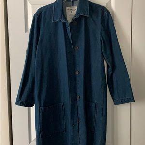 Jean coat size med